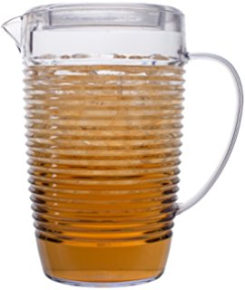 Break Resistant Plastic Iced Tea Pitcher