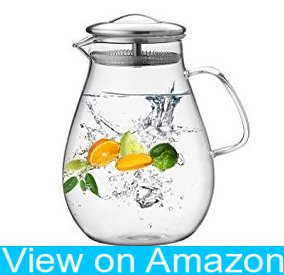 Hiware 64 Ounces Iced Tea Pitcher