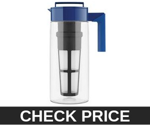 Takeya Blueberry Iced Tea Maker with Patented Flash Chill