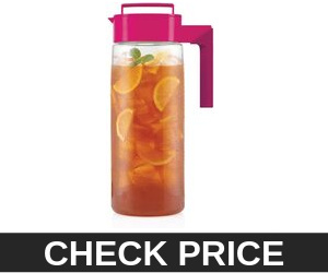 Takeya Raspberry Iced Tea Maker with Patented Flash Chill